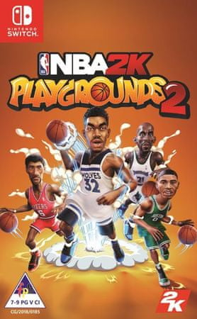 Take 2 igra NBA 2k: Playgrounds 2 (Switch)