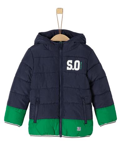 s.Oliver fantovska bunda, modro zelena, 110