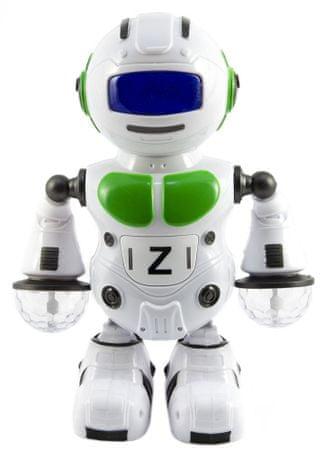 Teddies Robot tancujúci 23 cm so svetlom a zvukom