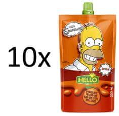 Hello 10x SIMPSONS narancs - 200 ml