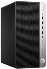 HP namizni računalnik ProDesk 600 G4 MT i7-8700/8GB/SSD256GB/W10P (3XW71EA)