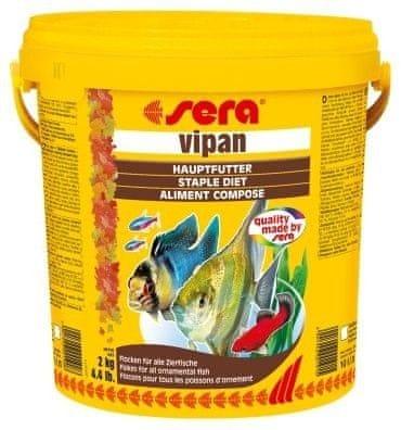 Sera Základní krmivo pro okrasné ryby Vipan 10l