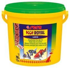 Sera Základníé krmivo pro koi a iostatní jezírkové ryby Koi Royal Large 3,8l