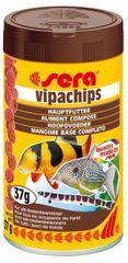 Sera Speciální krmivo pro řasožravé ryby Vipachips 100ml
