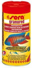 Sera Základní krmivo pro dravé cichlidy Granured 250ml