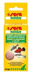 Sera Sedmidenní krmivo v tabletě Holiday 10tbl.