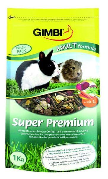 Gimborn Super Premium Adult Formula krmivo pro hlodavce 1kg