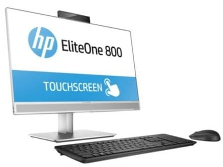 HP AiO računalnik EliteOne 800 T G4 AiO i7-8700/16GB/SSD512GB/23,8FHD/W10P (4KX61EA)