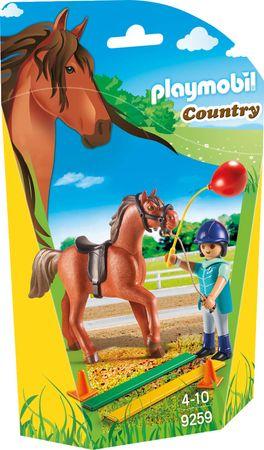 Playmobil terapevt za konje 9259