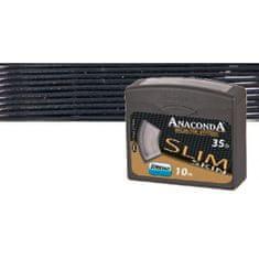 Anaconda návazcová šňůra  Slim Skin 10 m Black