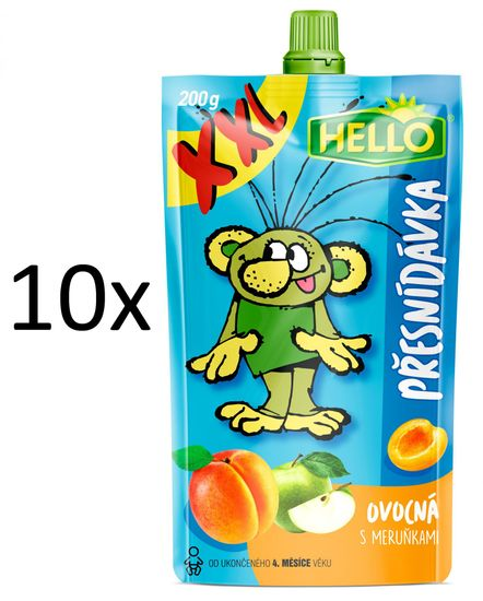 Hello 10x OP XXL s meruňkami - 200 g