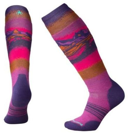 SmartWool W Phd Slopestyle Medium Meadow Mauve S