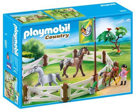 Playmobil ograda s konji 6931