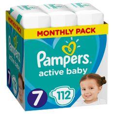 Pampers plenice Active Baby, mesečno pakiranje, S7