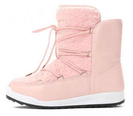 Vices ženski škornji za sneg, 37, svetlo roza