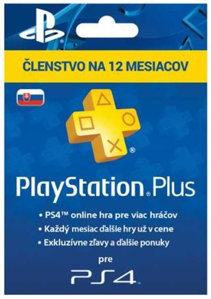 Sony PlayStation Plus Card Hang 365 Days (SK)