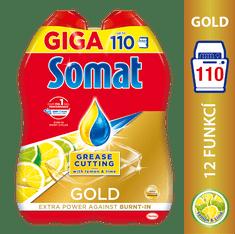 Somat Gold Gel Anti-grease Lemon 2 x 990 ml