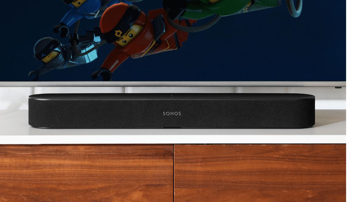 Soundbar Sonos Beam rendszer 5.1 hangasszisztens applikáció sonos airplay