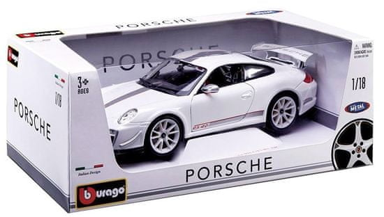 BBurago Porsche 911 GT3 RS 4.0 1:18 - white