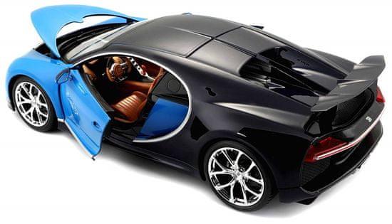 BBurago Bugatti Chiron 1:18 - blue