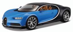 BBurago Bugatti Chiron 1:18 - modré
