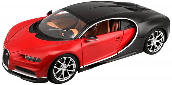 BBurago Bugatti Chiron 1:18 - red