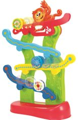 Teddies BABY Majmos görgős játék