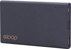 EPICO PowerBank ELOOP by EPICO E12, 11 000 mAh czarny 9915101300017