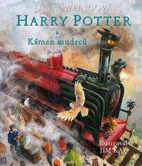 Rowlingová Joanne Kathleen: Harry Potter a kámen mudrců - ilustrované vydání