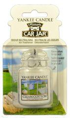 Yankee Candle Luxusní visačka - Clean Cotton
