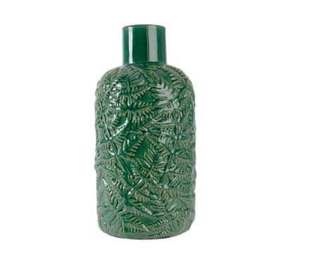Kaemingk vaza z dekorativnimi listi, 15x29,5cm