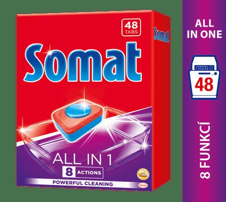 Somat tablete za pomivalni stroj All in One, 48 kosov