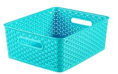 Curver škatla za shranjevanje, M, ratan, 13 L