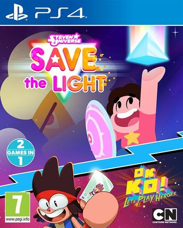 Outright Games Steven Universe: Save the Light & OK K.O.! Let's Play Heroes PS4