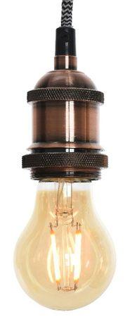 """Kaemingk lampa wisząca """"Żarówka"""", 5 x 7 cm, miedziana, max 40 W"""