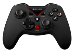 Canyon bezdrátový gamepad pro Xbox ONE, PS3, PC a Android (CND-GPW8)