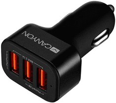 Canyon Mini 3 USB car adapter, Input 12V-24V, Output 5V-3.1A, černá CNE-CCA06B