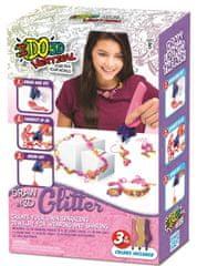 IDO3D Vertical: Glitter 3 pera - Dazzling Jewellery