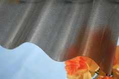 LanitPlast Vlnitý polykarbonát Marlon CSE ORIGINAL VL 95/38 síla 0,8 mm bronz