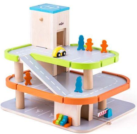Woody Garaż Piętrowy Z Akcesoriami Wl90083 Mallpl