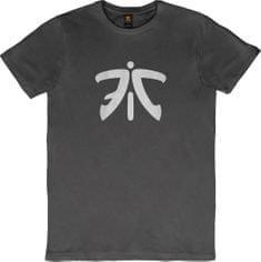 Fnatic Ess Logo Tee, tmavě šedé, L (FC-TS-5060400869183)