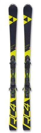 FISCHER Narty zjazdowe RC4 SPEED PT + RC4 Z 11 PR 155 czarny/żółty