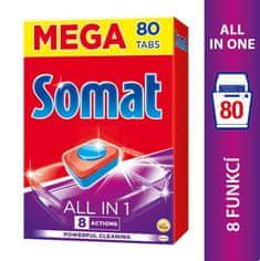 Somat tablete za pomivalni stroj All in One, 80 kosov
