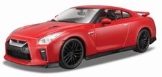 BBurago 2017 Nissan GT-R 1:24 piros