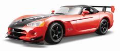 BBurago Dodge Viper SRT 10A CR 1:24 piros