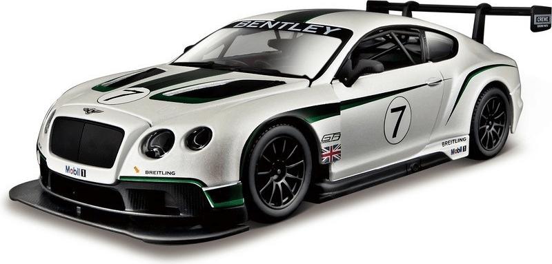 BBurago Race Bentley Contin. GT3 1:24