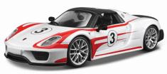 BBurago Race Porsche 918 Weissach 1:24