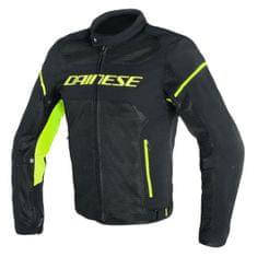 Dainese pánska motocyklová bunda  AIR-FRAME D1 TEX čierna/fluo-žltá