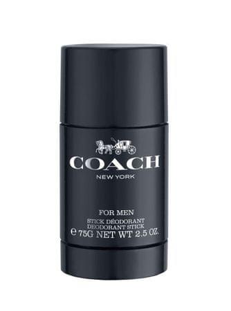Coach For Men - tuhý deodorant 75 ml