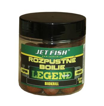 Jet Fish Rozpustné Boilies 150 g 20 mm Biocrab + A.C. Biocrab